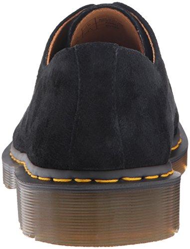 Dr Martens Hombres Negro 1461 3 Eye Nubuck Zapatos Black