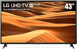 LG 43 Inches 4K Ultra HD Inteligente con Alexa integrada (2019) 43UM7100PUA
