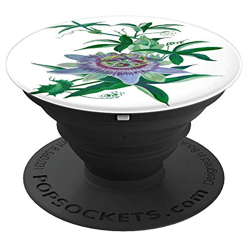Passion Flower Amethyst Blossom PopSocket - PopSockets Grip and Stand for Phones and Tablets