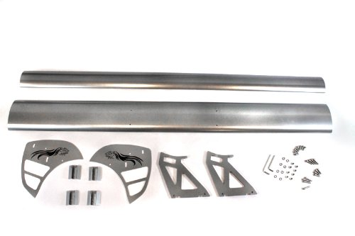 Universal GT Racing Aluminum Spoiler 55'' Type-S (Silver) by High performance parts (Image #1)