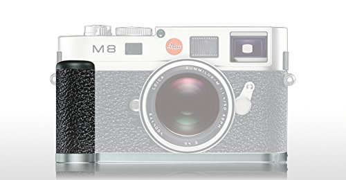 Leica M9/M8 Handgrip for Digital M-Cameras, Black Paint 14486