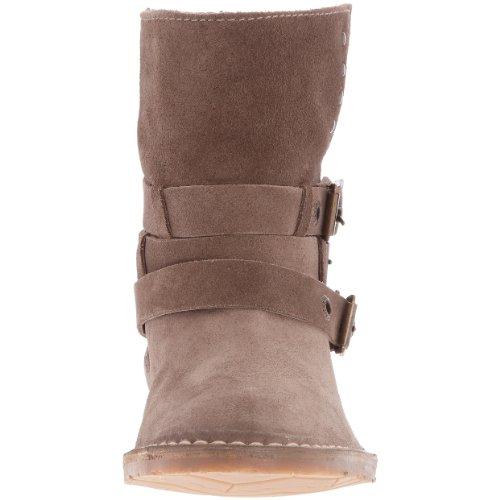 Fonc Femme Beige Kickers Boots Trestrap fFqwI8