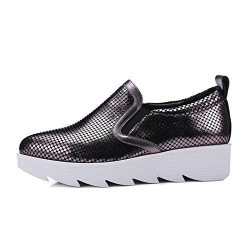 Zapatos de otoño/Zapatos de plataforma la plataforma del punto del/Zapatos de las mujeres de talla grande/zapatos casuales A