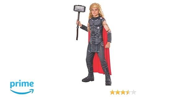 Avengers - Disfraz de Thor Ragnarok infantil, 3-4 años (RubieS Spain 630783-S)