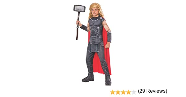 Avengers - Disfraz de Thor Ragnarok infantil, 7-8 años (RubieS ...