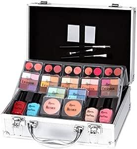 Keeva Cosmetics - Juego de maquillaje de diva con 72 piezas: Amazon.es: Belleza