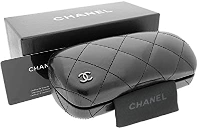 Amazon.com: Chanel Quilted Sunglass Sunglasses Case, Lense