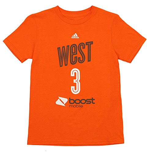 Outerstuff WNBA Youth Boys Phoenix Mercury Diana Taurasi #3 Player's Tee, Orange Large (14-16)