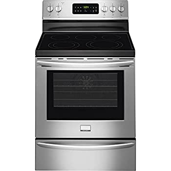"""Frigidaire FGEF3035RF Gallery 30"""" Stainless Steel Electric Smoothtop Range - Convection"""