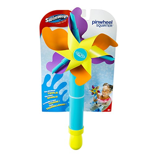 SwimWays Pinwheel Squirter, Colors May Vary