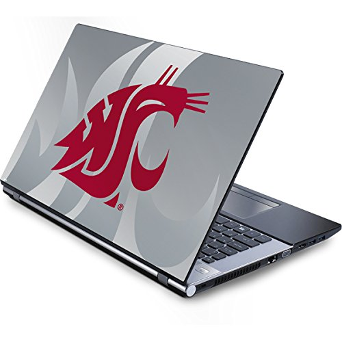 (Skinit Washington State Cougars Generic 12in Laptop (10.6in X 8.3in) Skin - Officially Licensed College Laptop Decal - Ultra Thin, Lightweight Vinyl Decal Protection )