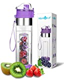 Best Infuser Water Bottles - Bottom Loading Fruit Infuser Water Bottle Review