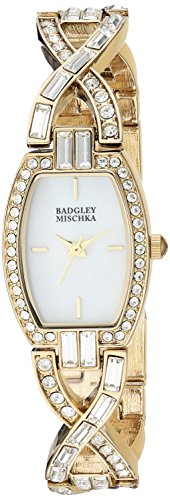 badgley-mischka-womens-ba-1378mpgb-swarovski-crystal-accented-gold-tone-open-bracelet-watch