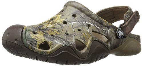 Crocs Men's Swiftwater Realtree Xtra Clog Mule