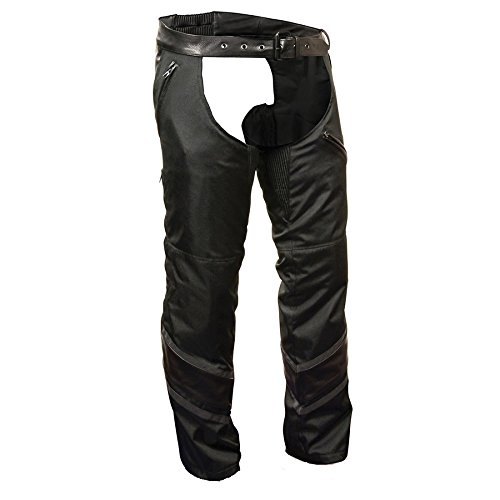 Milwaukee Men's Textile Chap with Leather Trim Detailing ...