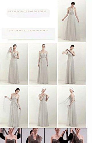Wearing Sweetheart 2017 Bridesmaid Pregnant Long Women's Chupeng Evening Changeable Gray Dresses Cq5wBOtt