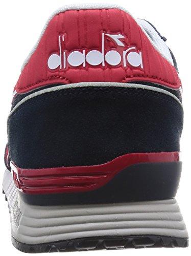 per piatta rosso c2546 mista adulti Diadora multicolore a piattaforma Ii Cina Blu Profondo Pompe Titan wqX0UA