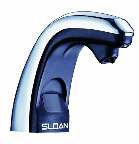 Sloan Valve ESD-250 Battery Powered Sensor Activated Electronic Soap Dispenser, Chrome/Black by Sloan Valve (Image #1)