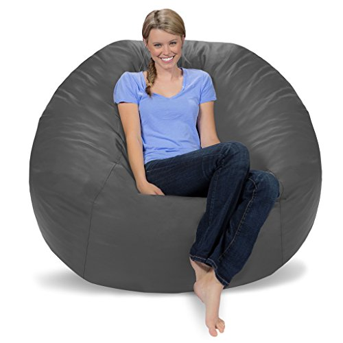 Faux Leather Bean Bag Cover - 5