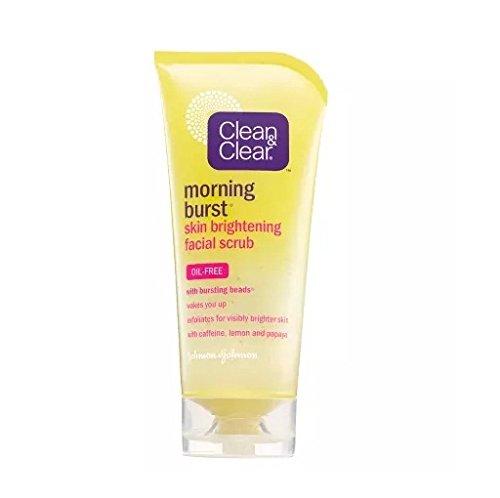 Clean & Clear Morning Burst Skin Brightening Facial Scrub...