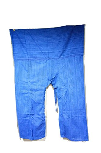 Thai Fisherman Pants Yoga Trousers Free Size Plus Size Cotton - Jacket Oakley Sale Half