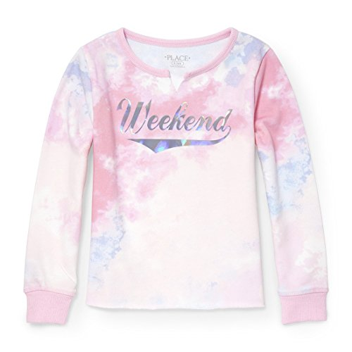 The Children's Place Big Girls' Long Sleeve T-Shirt, Cameo 5950, M (7/8)