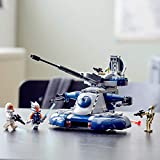 LEGO Star Wars: The Clone Wars Armored Assault Tank (AAT) 75283 Building Kit, Awesome Construction Toy for Kids with Ahsoka Tano Plus Battle Droid Action Figures, New 2020