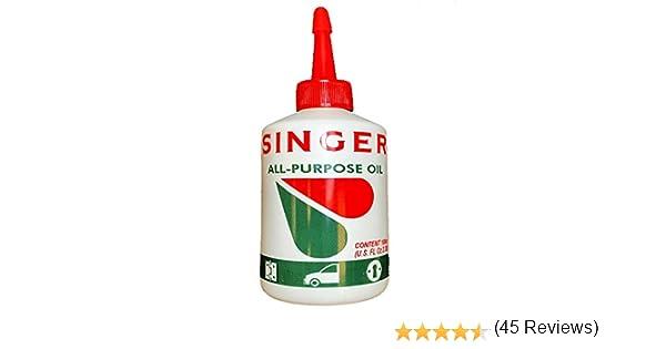 Aceite Singer original para maquina de coser armas bicicletas: Amazon.es: Industria, empresas y ciencia