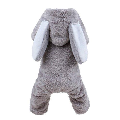 UEETEK Dog Rabbit Costume Pet Puppy Hoodies Clothes