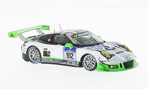 Porsche 911 GT3 R, No.912, Manthey racing, 24h Nurburgring, 2016, Model Car,, Spark 1:43