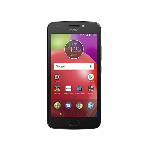 Moto E (4th Generation) - 16 GB - Unlocked (AT&T/Sprint/T-Mobile/Verizon) - Black - Prime Exclusive (Networks Sprint)