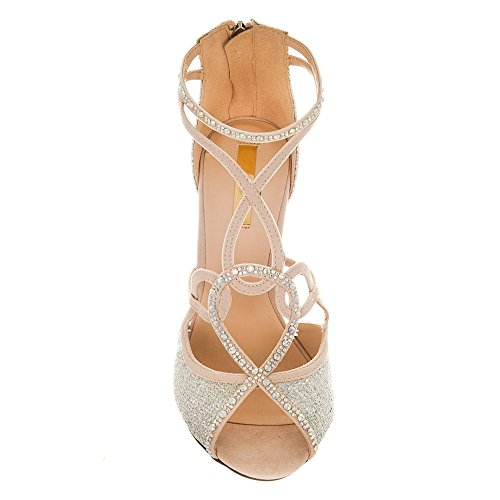 toe Shoes Diva Donna Peep Miss Nude qR4UtxUw