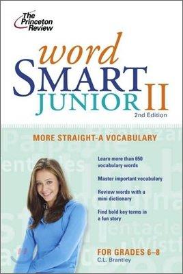 Word Smart Junior 2 : More Straight-A Vocabulary, 2/E