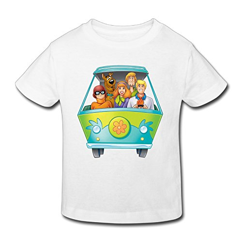 Toddler's 100% Cotton Scooby And Gang Cute T-Shirt