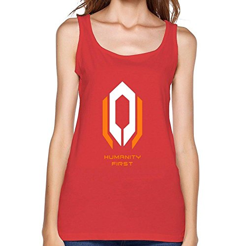 VEBLEN Women's Mass Effect Design Cotton Tank Top (Blades Of Chaos For Sale)