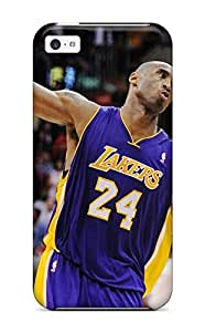 First-class Case Cover For Iphone 5c Dual Protection Cover Los Angeles Lakers Nba Basketball (52)