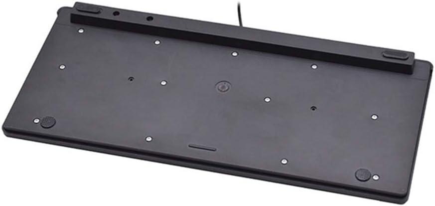 HOUER Wired keypad Multimedia Mini Keyboard Laptop Keyboard USB External Waterproof