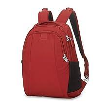 Pacsafe Metrosafe LS350 Anti-Theft 15L Backpack, Vintage Red