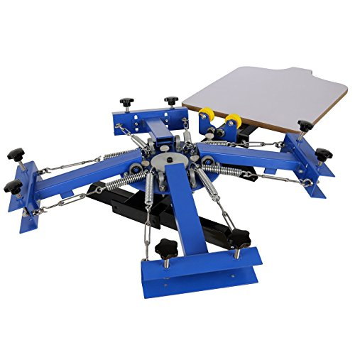 21.7x17.7 Silk Screen Printing Press Machine 4 Color 1 Station T-shirt Printing Machine(Silk Screen Printing Machine) by PanelTech