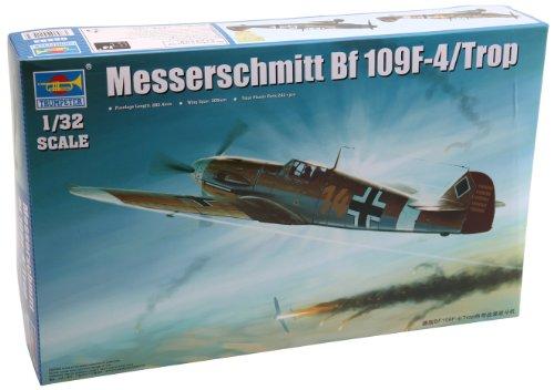 - Trumpeter 1/32 Messerschmitt BF-109F4/Trop German Fighter Model Building Kit