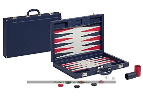 (Dal Negro Valigia Blue Pro Backgammon Set )