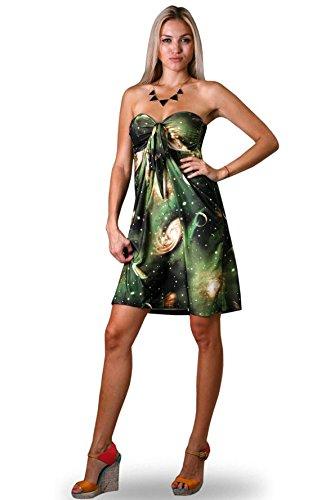 Vestido Veraniego de Dama A la rodilla Angela Júpiter