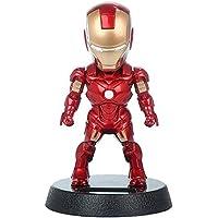 Trunkin Solar Powered Iron Man BOBBLEHEAD Multicolor