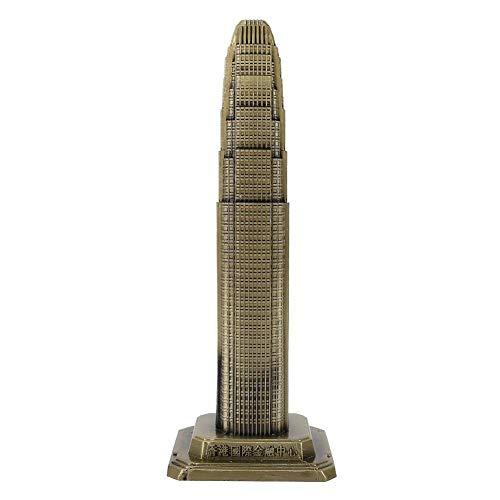(Hong Kong Financial International Center Model Hong Kong's Famous Landmark Buildings for Office Home Decoration)