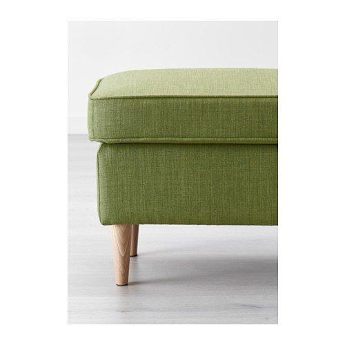 Ikea Strandmon Hocker Skiftebo Grün Amazonde Küche Haushalt