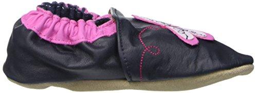 Jack & Lily Originals Dragon Fly Navy - Zapatillas de piel super divertidas y coloreadas, multicolor