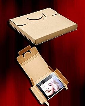 25 Cajas DE Carton para EL Embalaje Y Envio DE CD Compact Disc: Amazon.es: Electrónica