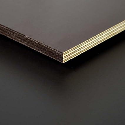 12mm Siebdruckplatte wasserfest Film//Sieb Platte 100x100 cm