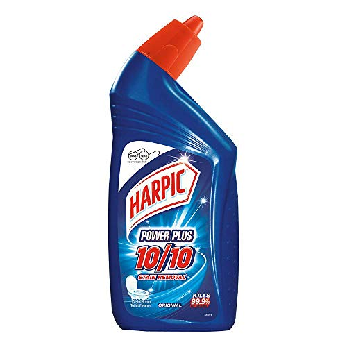 Harpic Power Plus Toilet Cleaner Orange – 650 ml (500 ml+ 30 % free)