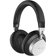 Premium MS301 Mixcder Wireless & Wired Over Ear Headphones with aptX Low Latency Audio- Foldable Bluetooth Headsets with Mic - 20 Hours Playtime for iPhone Tablet PC TV